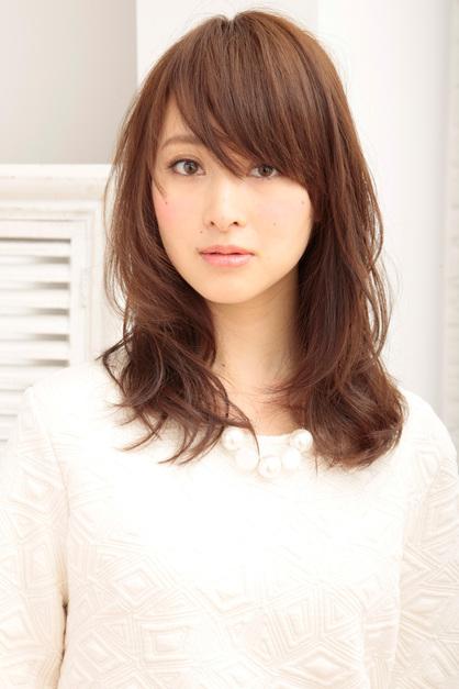 2016女生流行中長髮髮型
