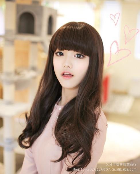 女生流行長髮髮型