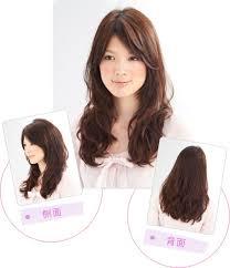 女生流行中長髮髮型