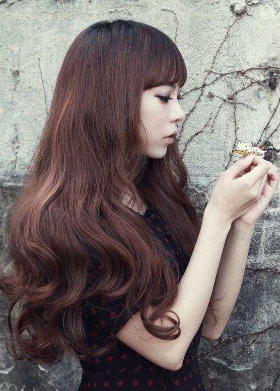 女生長髮髮型圖片