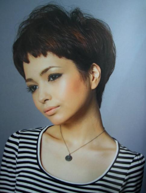女生短髮 髮型