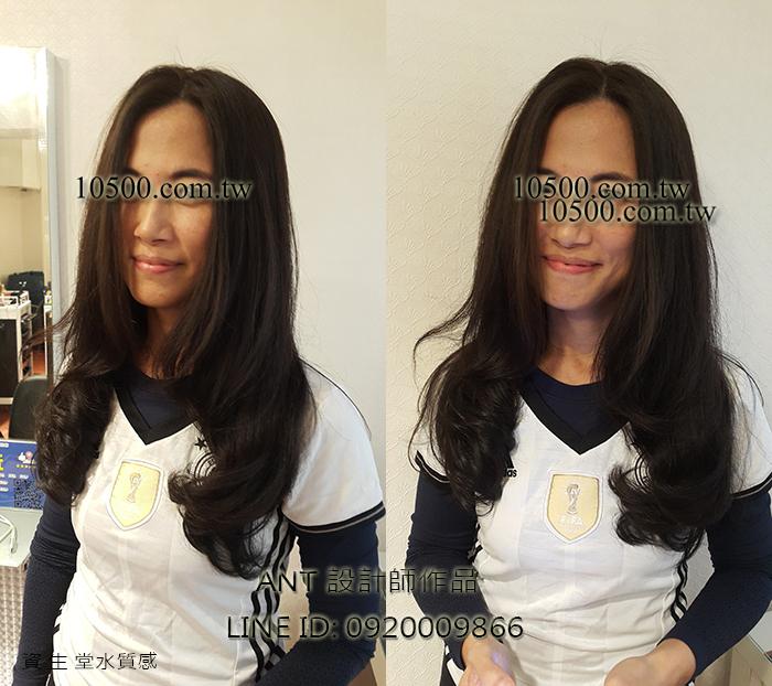 女生捲髮髮型-作品集
