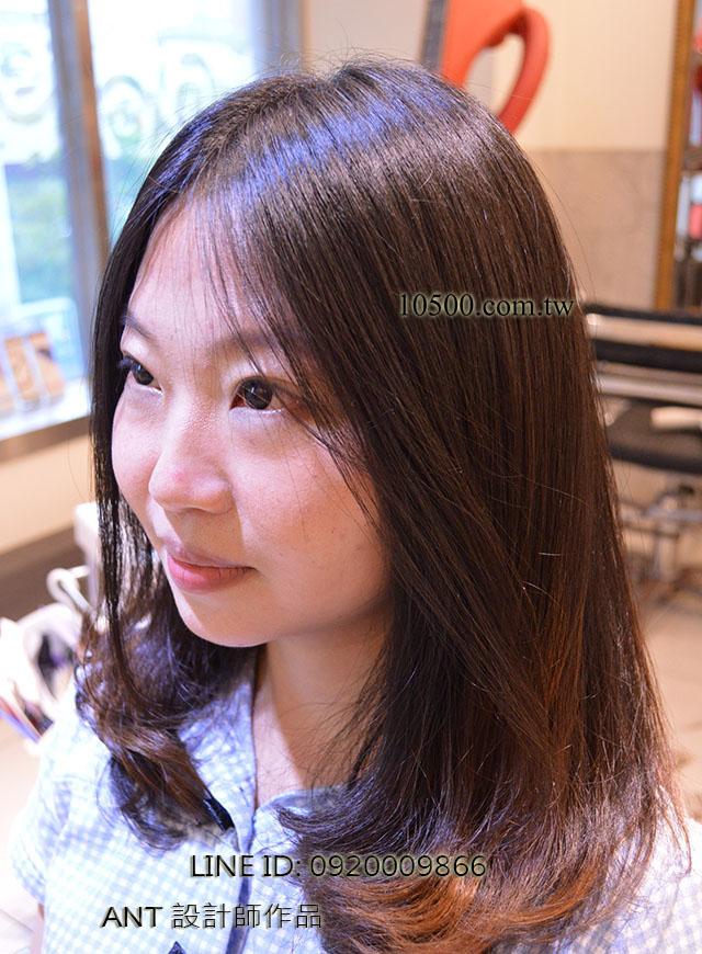 女生中長髮流行髮型